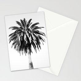 palm vintage black & white Stationery Cards