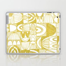 Golden Doodle squares Laptop & iPad Skin