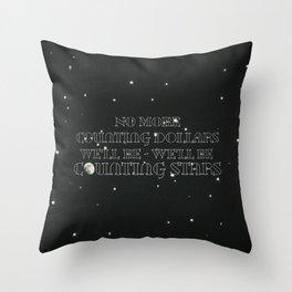 OneRepublic ; Counting Stars Throw Pillow
