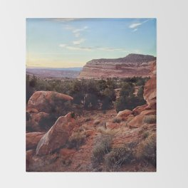 Home Rock Throw Blanket