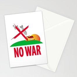 No war Stationery Cards