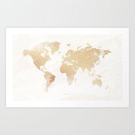 MAP-Worldwide IV Art Print