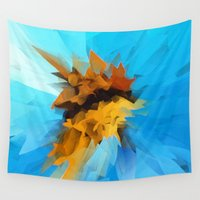 butterfly Wall Tapestries featuring Butterfly by Paul Kimble