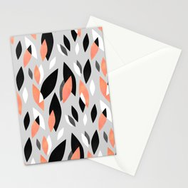 Falling Leaves Pattern Stationery Cards