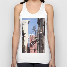 Sicilian Mountainvillage - Forza d'Agro Unisex Tank Top