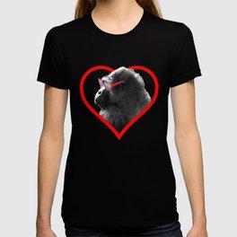Gorilla heart T-shirt