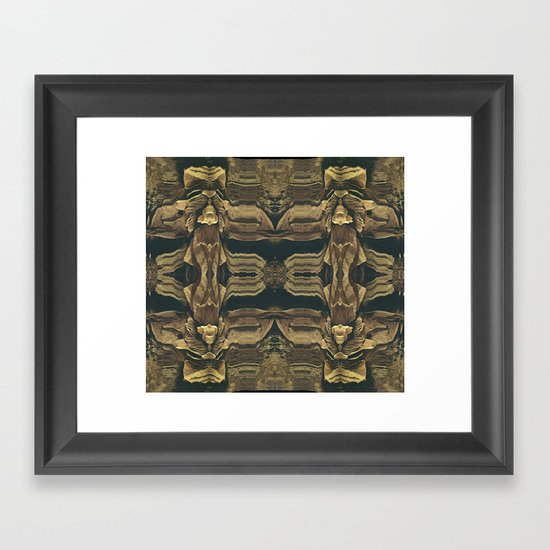 Stalagmites Version 1 Framed Art Print
