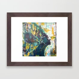 mothers' nature Framed Art Print