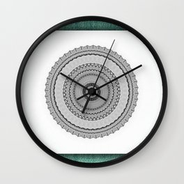 Green West Wall Clock