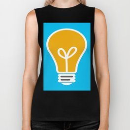 Let Your Light(bulb) Shine Biker Tank