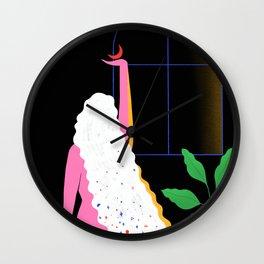 Nightlights I Wall Clock
