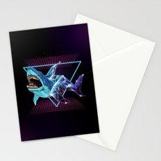 Shark 80s Stationery Cards