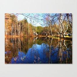 Chapin Lane Pond Canvas Print