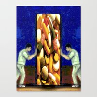 scrubs Canvas Prints featuring SCRUBS by Laertis Art