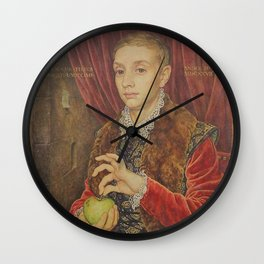 Paint Old Wall Clock