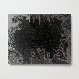 GALAXY GARDEN .02 Metal Print