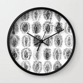 Ink Vulvas Wall Clock