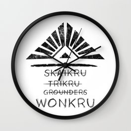 Join the Wonkru Wall Clock