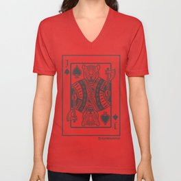 Jack of Spades Unisex V-Neck