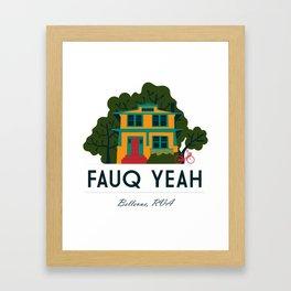 Fauq Yeah Framed Art Print