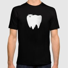Molar Bear Black SMALL Mens Fitted Tee