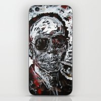 hunter s thompson iPhone & iPod Skins featuring Hunter S Thompson by Matt Pecson