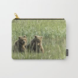 Brown Bear Cubs - Before Play Carry-All Pouch