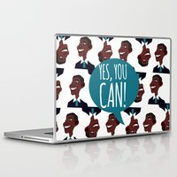 obama Laptop & iPad Skins featuring OBAMA by artic