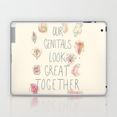 Happy Genitals Laptop & iPad Skin