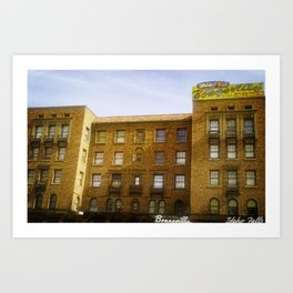 Idaho Falls Historic Building - Bonneville Hotel Art Print