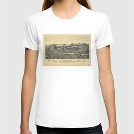 West Lebanon, New Hampshire and White River Junction, Vermont (1889) T-shirt