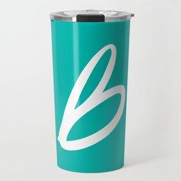 Recettes du Bonheur - Bleu Travel Mug