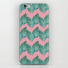 Watercolor Leaves iPhone & iPod Skin