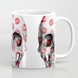 Kisses Skull Coffee Mug