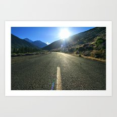 The Road Art Print