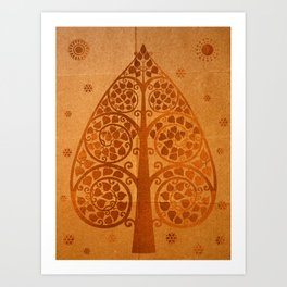 Bodhi Tree0504 Art Print