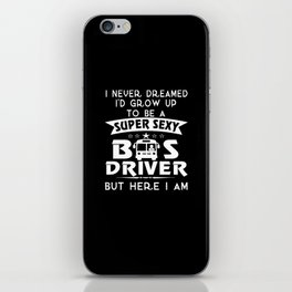 Sexy Bus Driver iPhone Skin
