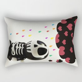 Automatons Have Feelings Too Rectangular Pillow