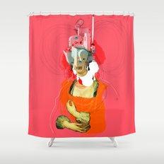Peter Paul Rubens Pop Portrait v2 Shower Curtain