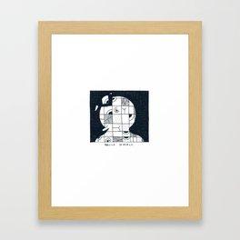 Rebuild yourself Framed Art Print