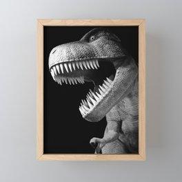 Tyrannosaurus Rex dinosaur Framed Mini Art Print
