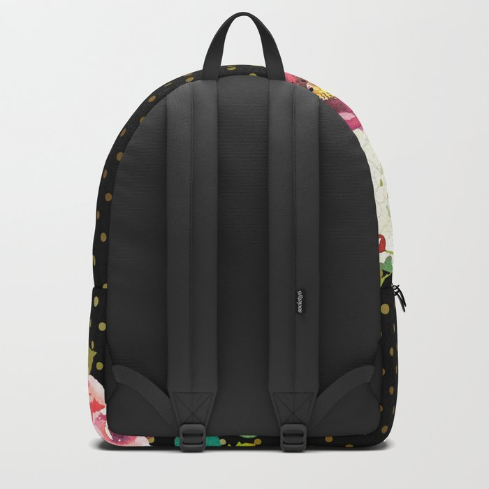 Flowers bouquet #34 Backpack