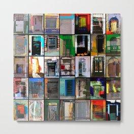 35 Puertas Metal Print