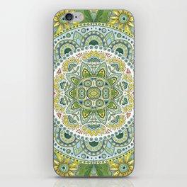 Green Madala iPhone Skin