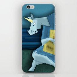 Old Guitarist Unicorn V02 iPhone Skin