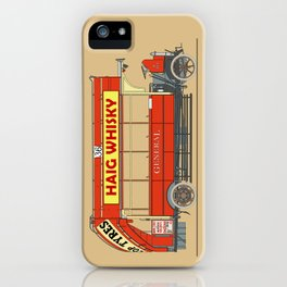 The Vintage London Bus iPhone Case