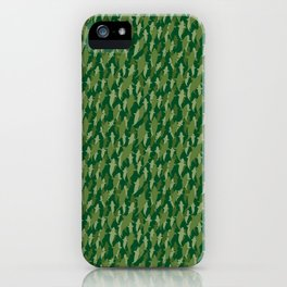 Camo Sharks iPhone Case