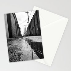 Gritty Tacoma alley Stationery Cards