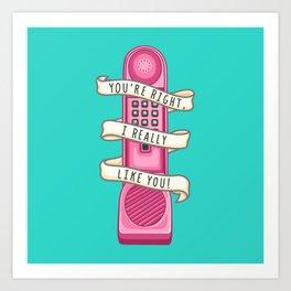 Dream phone Art Print