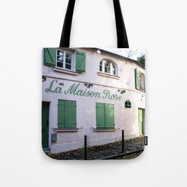 The Pink House Paris Tote Bag